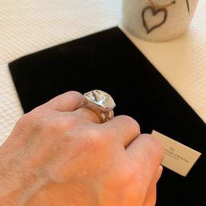 Swarovski Jewelry - Swarovski Crystal by Touchstone Cocktail ring